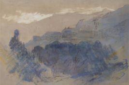 Edward Lear (British 1812-1888) , La Piana, Corsica