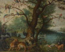 Follower of Jan Brueghel the Younger, The Garden of Eden