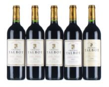 Mixed Chateau Talbot - 1999-2001, St Julien