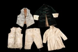 A collection of assorted items of children's costume