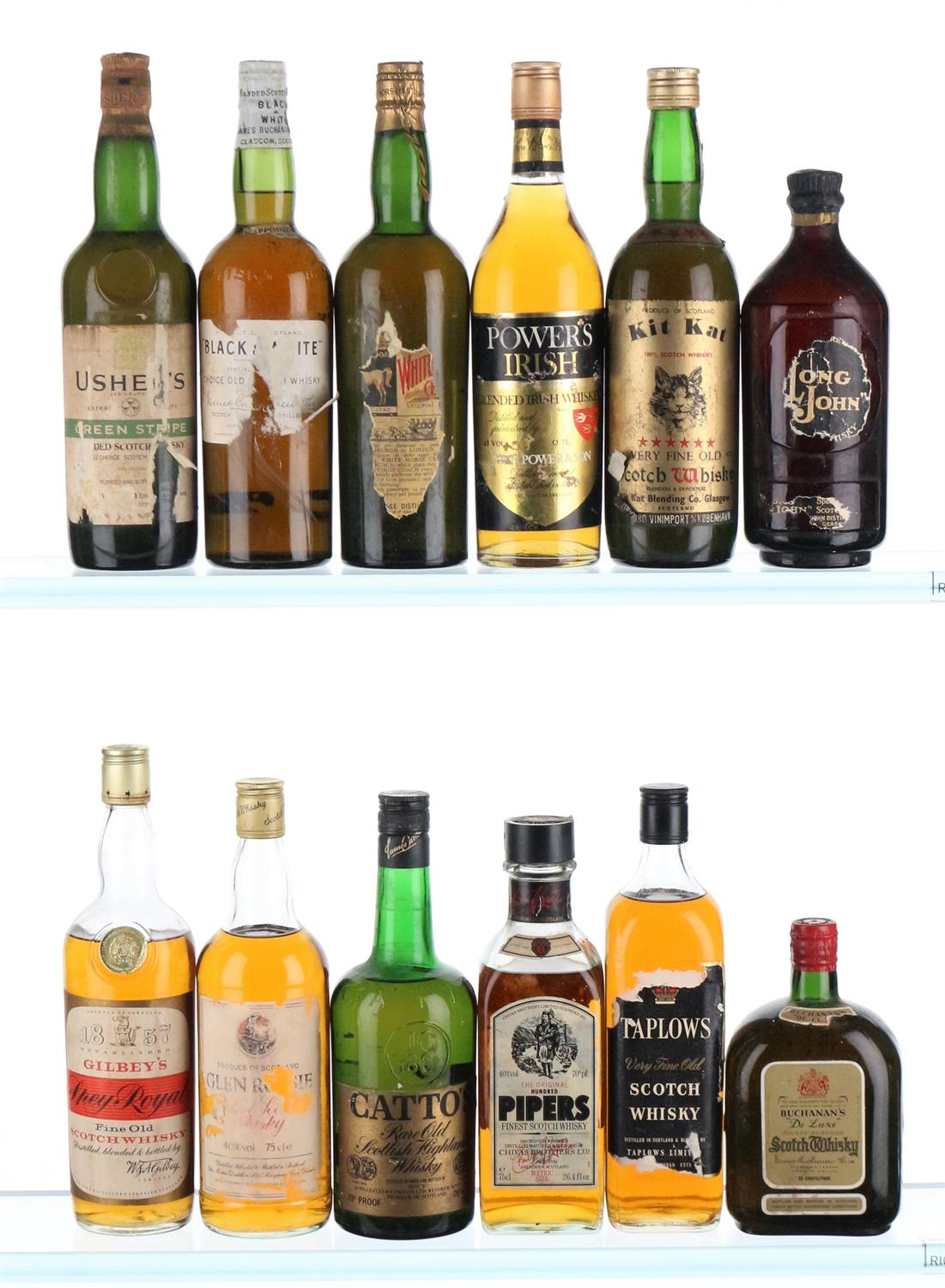 Mixed Case of Whisky 1940'-1960's