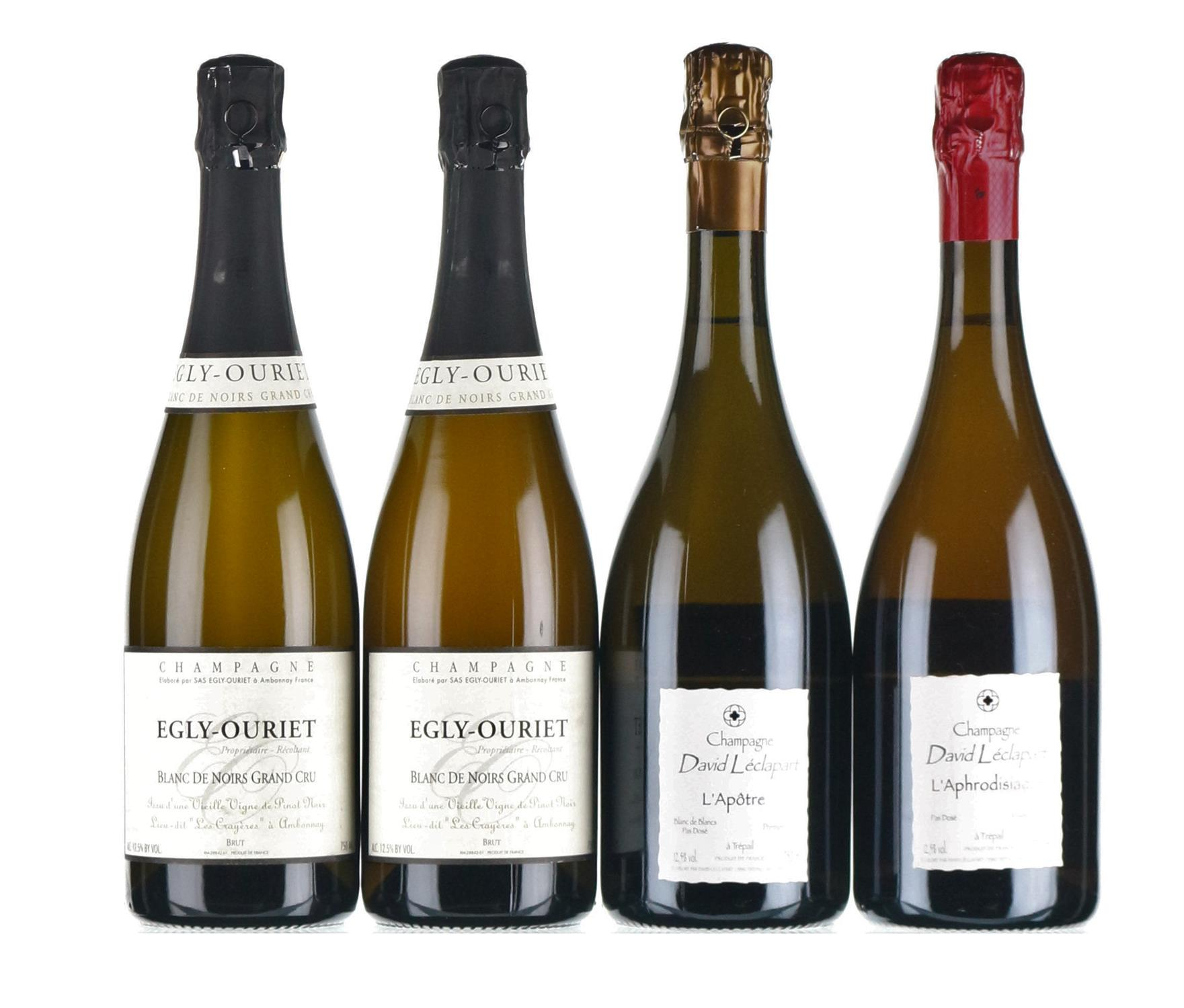 Mixed Champagne - Egly-Ouriet & David Leclapart