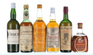 Mixed Case of Whisky 1940's-1960's