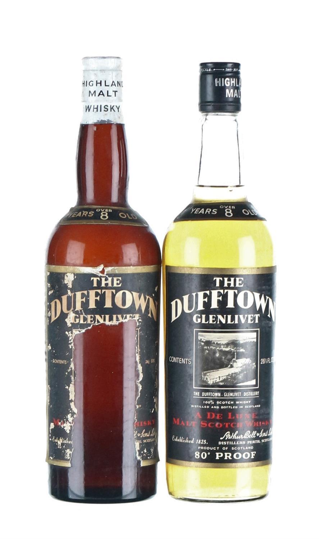 Dufftown-Glenlivet 8 Year Old -1950's/1960's