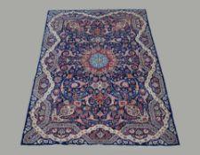 An Isfahan carpet