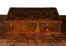 A William & Mary olivewood oyster veneered lace box