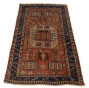 A Kazak karachov rug