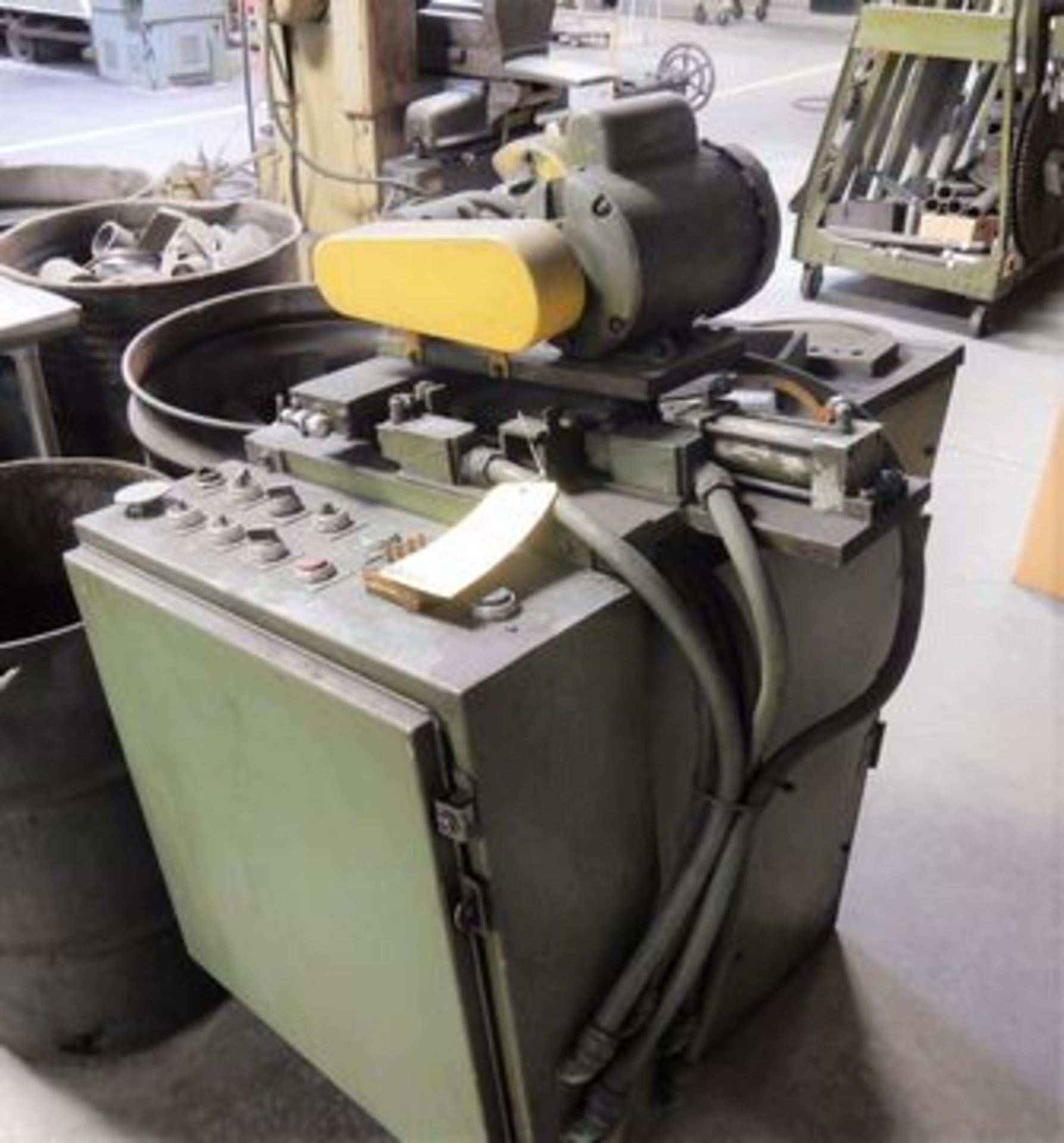 Lot 107 - TOOL & CUTTER GRINDER, M# N/A, 1 HP MOTOR (NOT IN SERVICE)