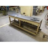 LOT MISC. PRESS BRAKE DIES UP TO 12' W/WOOD TABLE