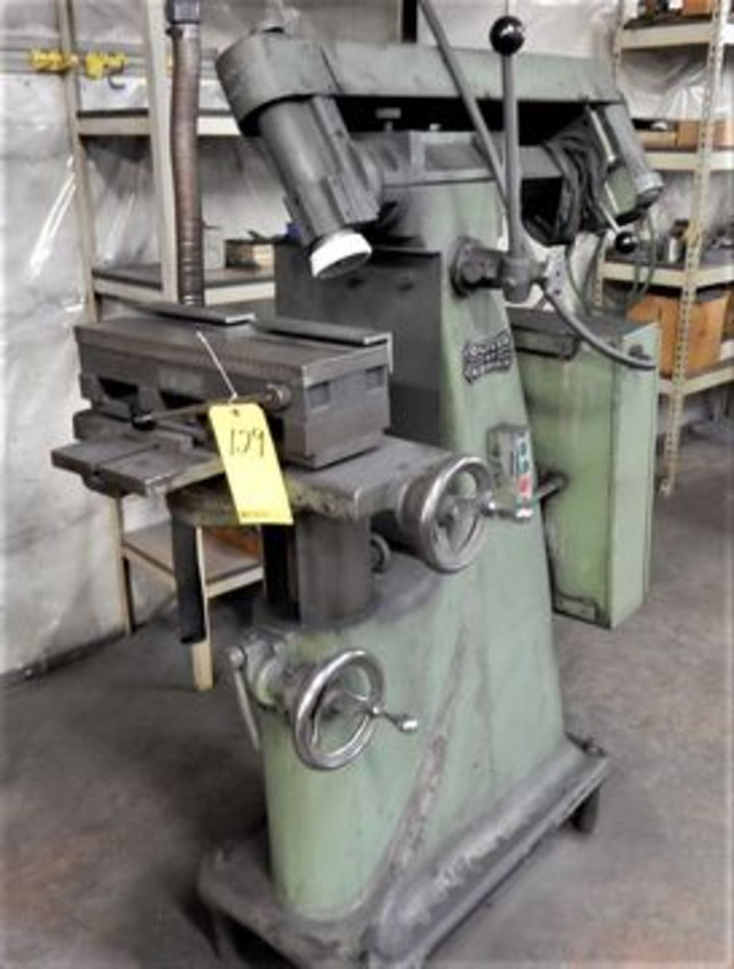 """Lot 129 - OLIVER ADRIAN TOOL & CUTTER GRINDER, M# ACE, S/N 1074, 6"""" X 18"""" MAGNETIC CHUCK"""