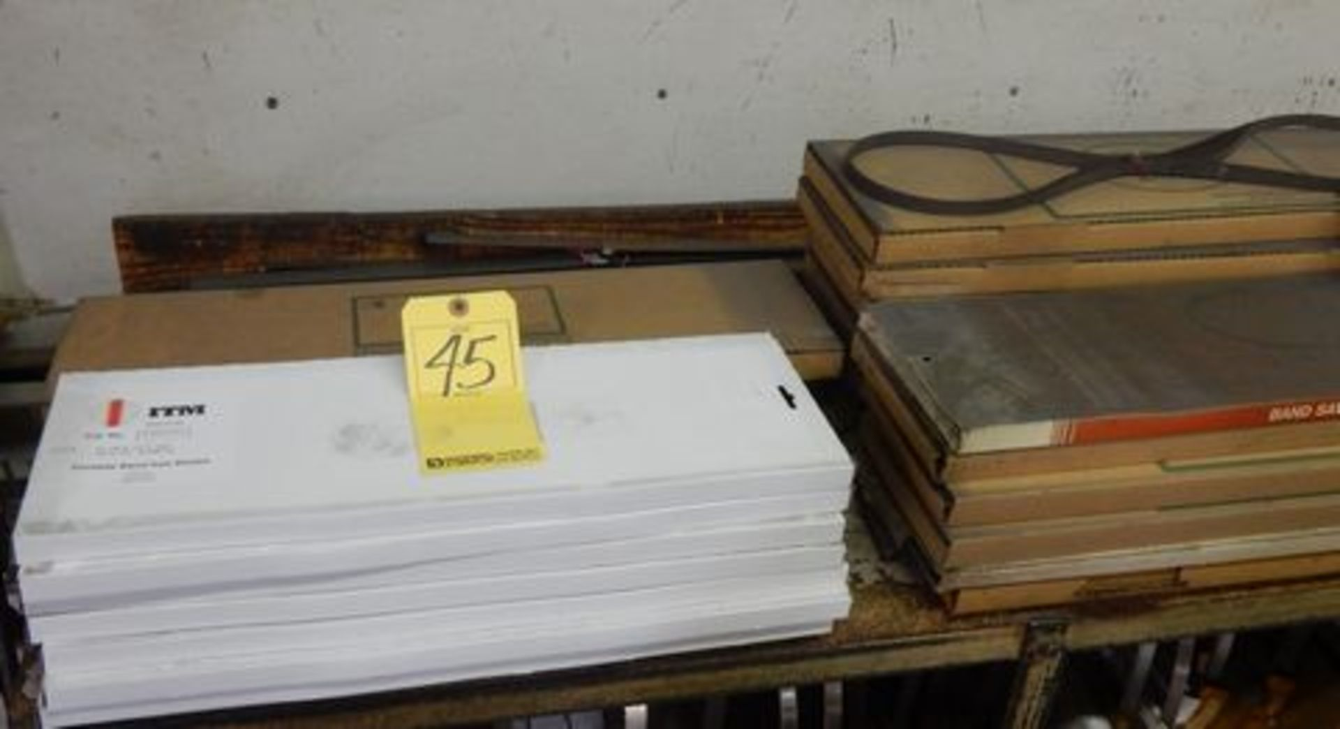 Lot 45 - LOT MISC. PORT. BAND SAW BLADES