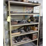 LOT SHELF W/CONTENTS TO INCLUDE MISC. MACHINE PARTS