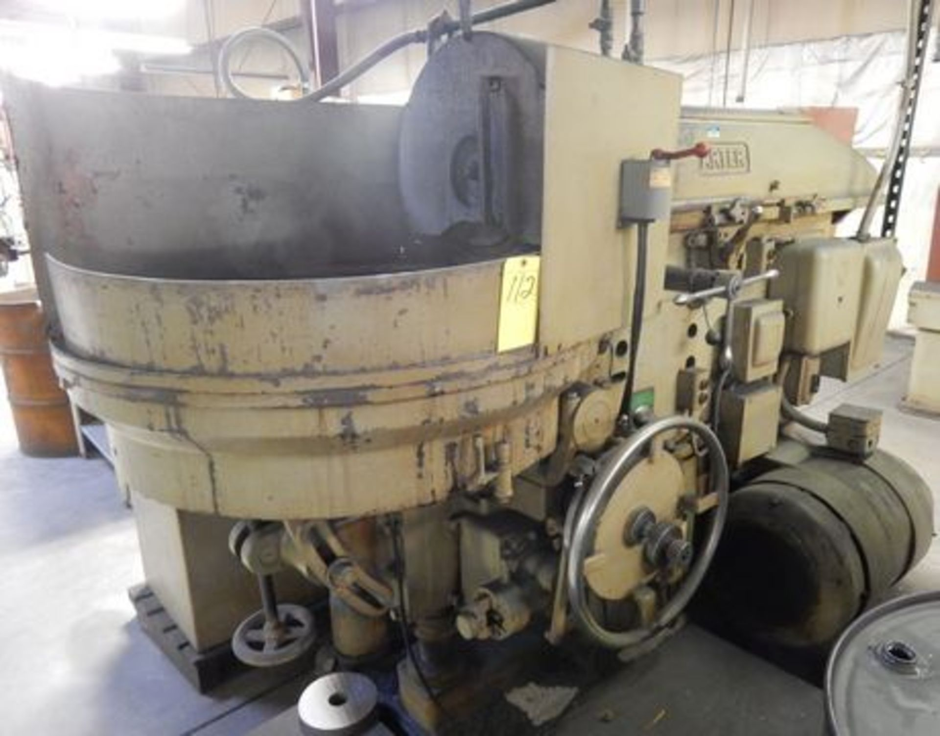 "Lot 112 - ARTER ROTARY SURFACE GRINDER, M# B-30, S/N 887, 31"" MAG CHUCK, 2-1/4"" X 20"" WHEEL"