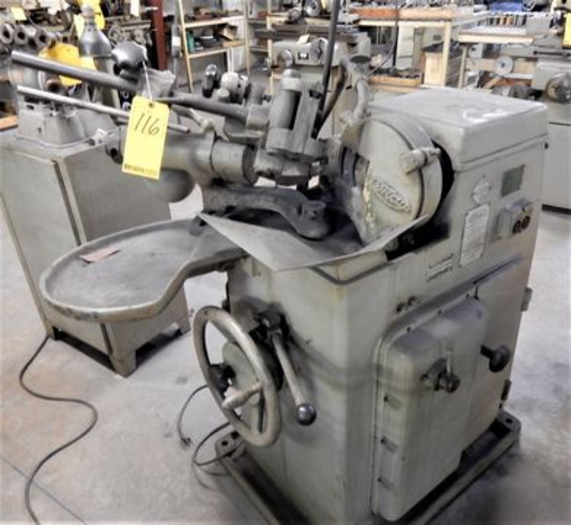 "Lot 116 - MAY DRILL GRINDER, S/N 3357, 3/8"" - 3"" CAP."