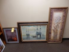 LOT MISC. PICTURES & ART