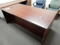 """3-DRAWER FORMICA TOP OFFICE DESK, 36"""" X 72"""" X 29.5"""""""