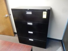 HAHN 4-DRAWER LATERAL FILE