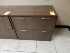 2-DRAWER WOOD LATERAL FILE