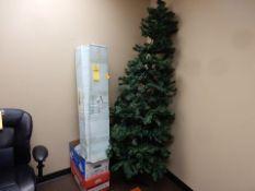 7' CHRISTMAS TREE W/DECORATIONS