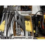 LOT MISC. SPANNER WRENCHES