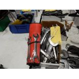 LOT END WRENCHES
