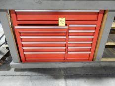 13-DRAWER TOOL BOX W/TABLE
