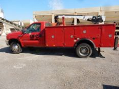 2000 FORD SERVICE TRUCK, M# F450XLT, VIN# 1FDXF46F8YEA35606, 395,327 MILES