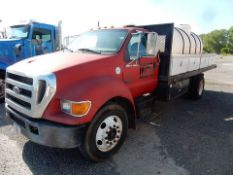 2006 FORD WATER TRUCK, M# F650SDXL, VIN# 3FRNF65E16V258994, 215,436 MILES