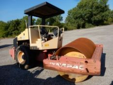 DYNAPAC ROLLER COMPACTOR, M# CA150D, VIN# 7322US5190, 2007