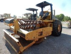 CATERPILLAR VIBRATORY PADFOOT ROLLER COMPACTOR, M# CP-563E, S/N CATCP563LCNT01471, 2007