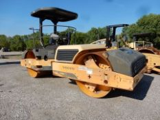 VOLVO VIBRATORY COMPACTOR, M# DD118HF, S/N VCE0D118C0S275763, 2010, 3,028 HOURS