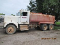 1993 KENWORTH WATER TRUCK, M# W900, VIN# 1XKWD69X7PS586314, 659,753 MILES