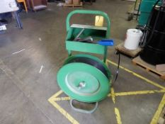 POLY STRAPPING CART W/TOOLS