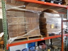LOT MISC. SIZE CARDBOARD BOXES