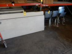 LOT FOLDING TABLES WITH STACKING CHAIRS