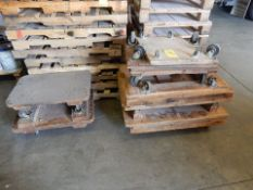 LOT MISC. FURNITURE DOLLY'S