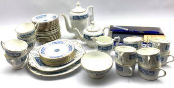 Coalport Revelry pattern tea and coffee service