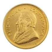 South Africa 1975 gold one ounce Krugerrand