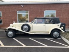Beauford wedding car - 1980's replica of a classic 1930's two door grand tourer luxury car, with fou