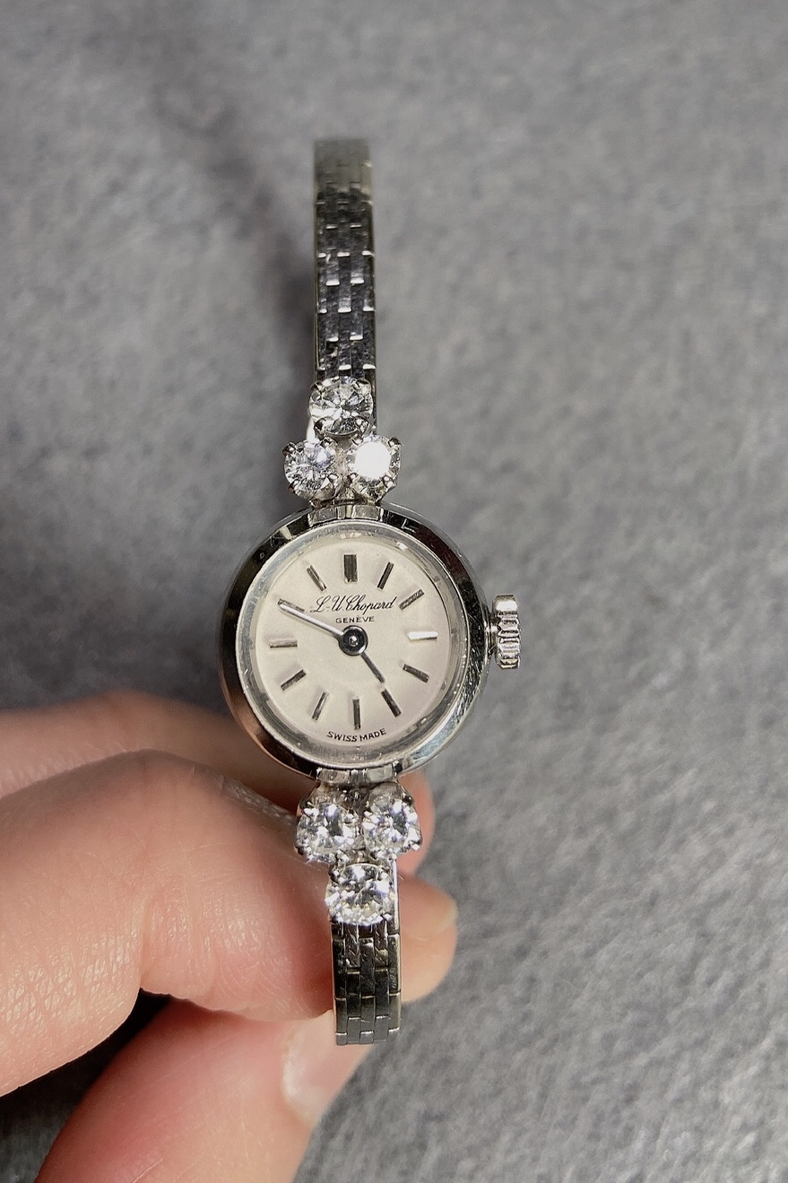 Diamond Wristwatch, Chopard, 1940s - Image 2 of 4