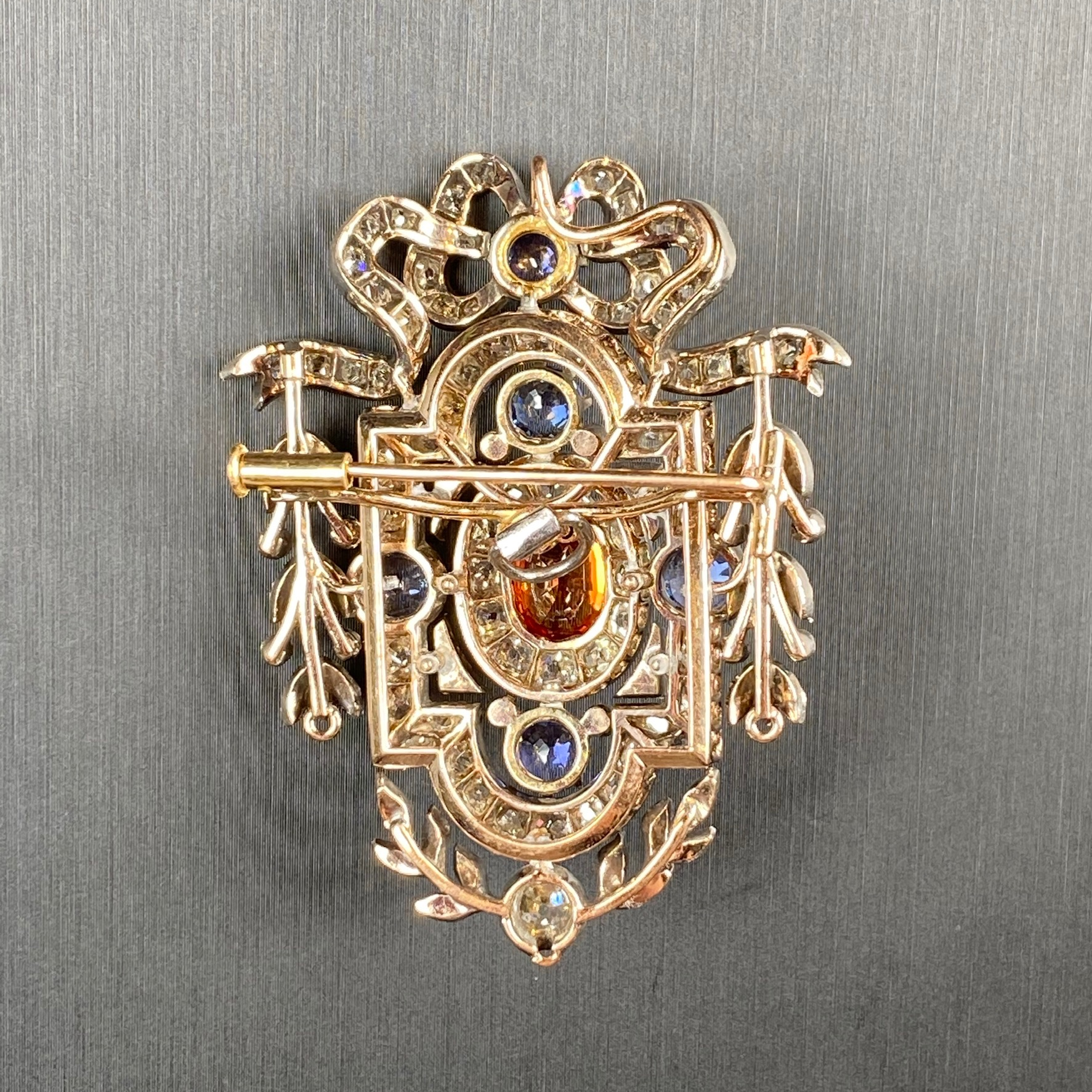 Sapphire Brooch, Victorian - Image 7 of 8