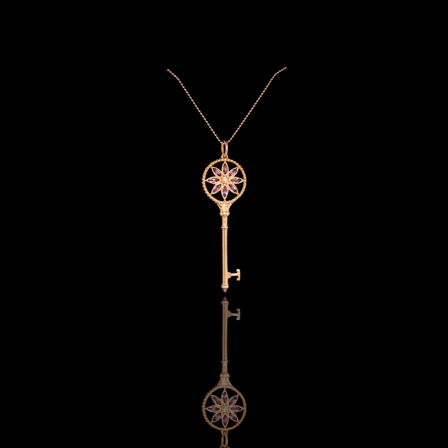 Lot 18 - Tiffany Keys Daisy Key Necklace, Tiffany & Co.