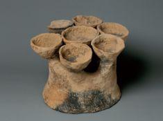 A Reddish-Black Pottery Ware, Gansu Province, Dadiwan Culture (5300-4700 Bc)