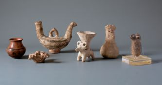 A Group Of Pottery Ware