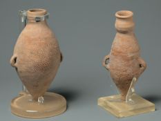 A Pair Of Pottery Vases, Yangshao Culture, Banpo Type (4800-3800 Bc)