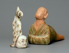 A Group Of Two Mermaind Figures, Song Dynasty
