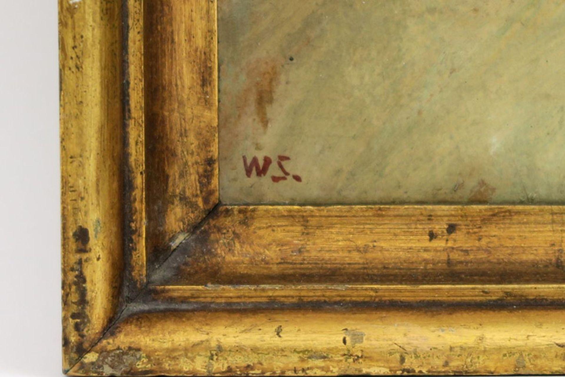 """SCHARFF WILLIAM (1886 - 1959) Deens olieverfschilderij op doek : """"Schapenkop"""" - 42 [...] - Bild 3 aus 4"""