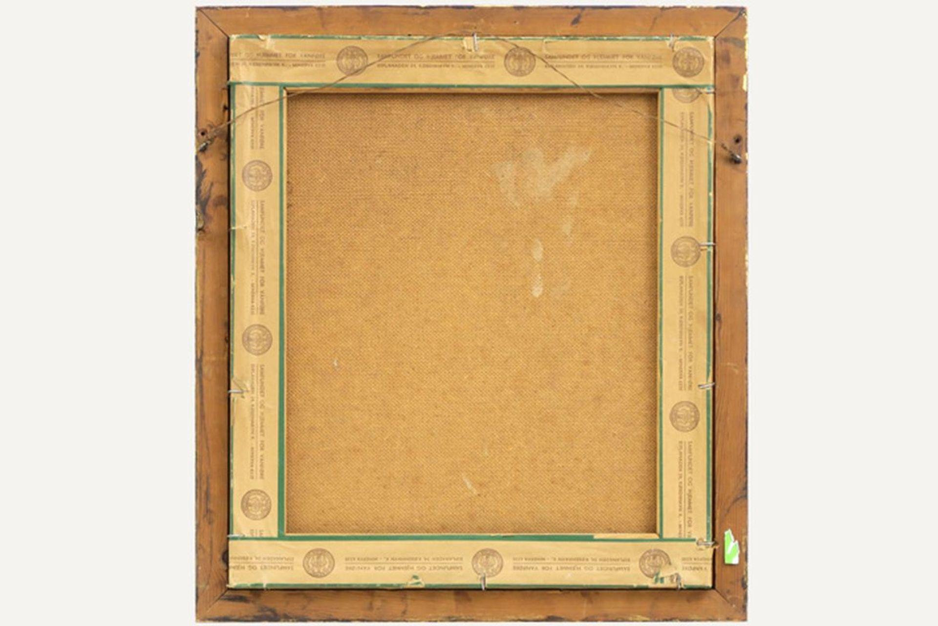 """SCHARFF WILLIAM (1886 - 1959) Deens olieverfschilderij op doek : """"Schapenkop"""" - 42 [...] - Bild 4 aus 4"""