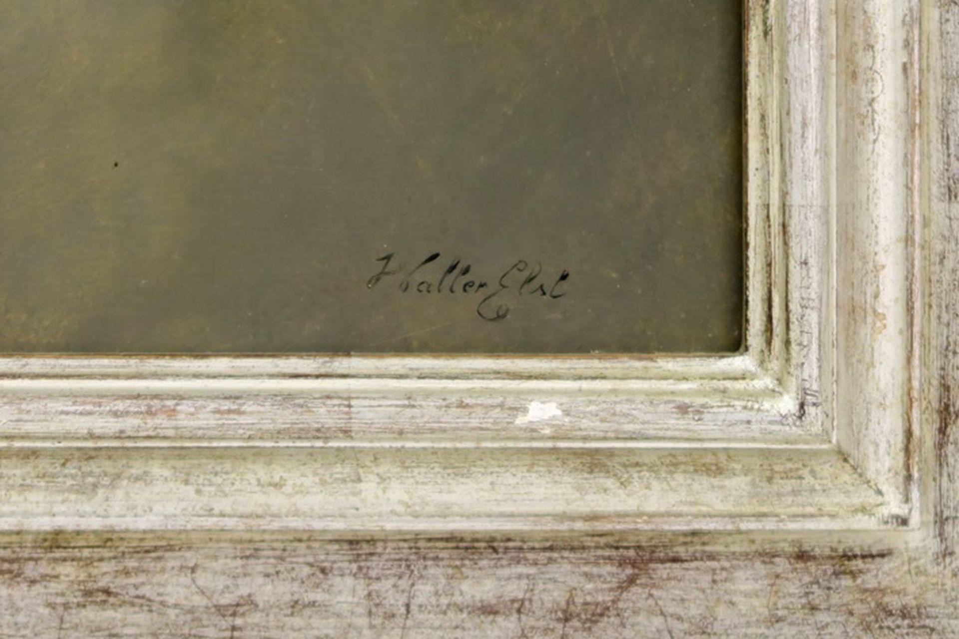 """Los 653 - ELST WALTER (° EKEREN 1955) olieverfschilderij op paneel : """"Bloementak"""" - 25 x 37 [...]"""