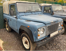 1989 Land Rover 90 Pick Up Petrol